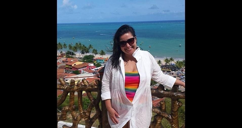 11.jan.2017 - Mariana Xavier adora viajar e sempre aparece em algum lugar paradisíaco