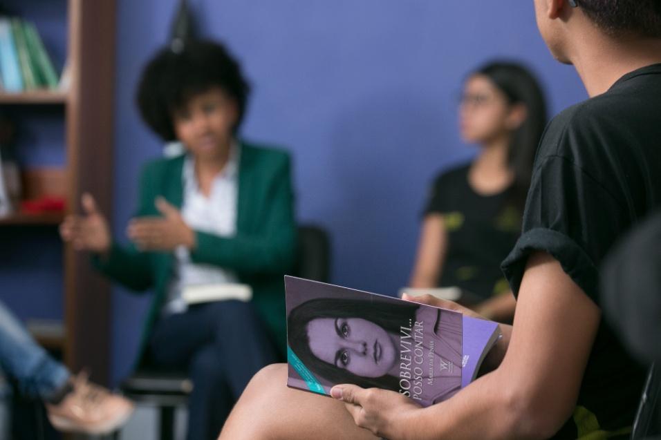 Uma parte do projeto focou no estudo, a partir de livros, da trajetória de mulheres importantes para a história do Brasil e do mundo