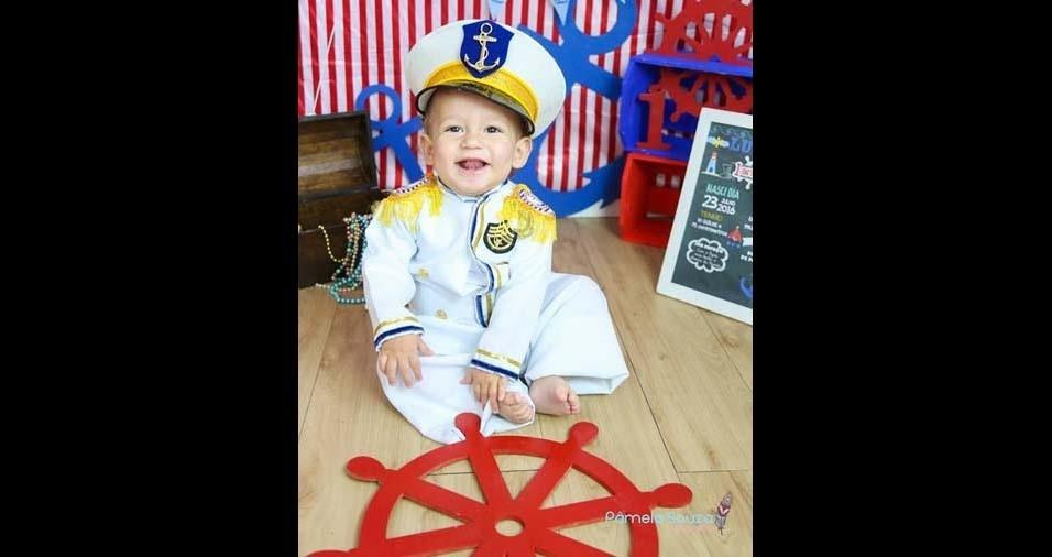Jessica, de Santa Isabel (SP), enviou foto do filho Lucas