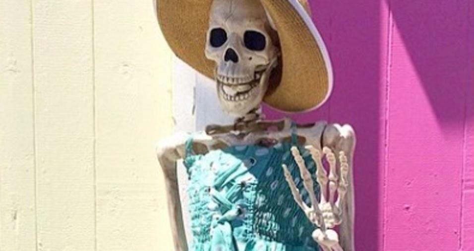 23. Uma garota deve saber combinar um lindo vestido e um chapéu