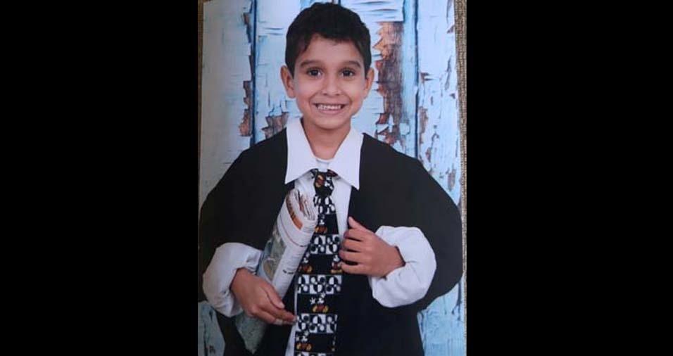 Wilson enviou foto do filho Eduardo, de Brasília (DF)