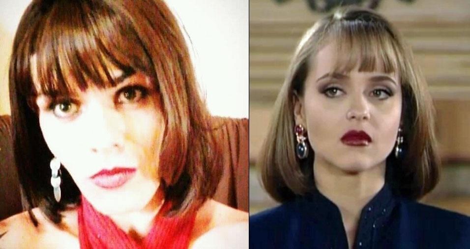 """Paola Felício, de Araraquara (SP), conta: """"Dizem que pareço com a Paola Bracho"""""""