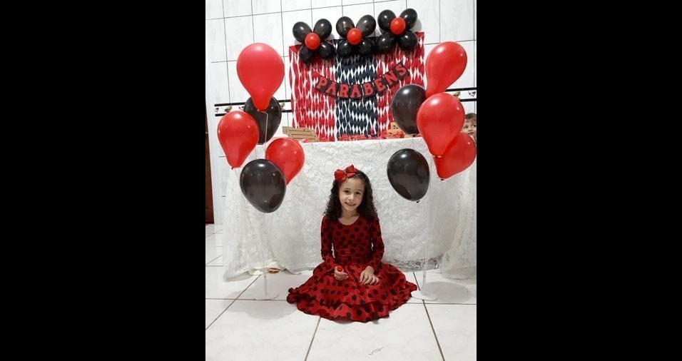 Giovanna é a filha do Diomar de Souza Santos e da Maira Soares. Eles moram em Apiacas (MT)
