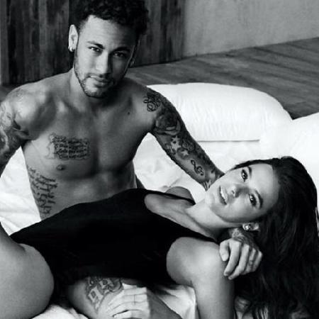 Neymar e Bruna Marquezine - Reprodução/Instagram @brunamarquezine
