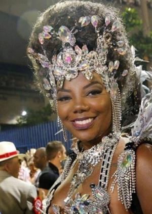 Ludmilla teve seu cabelo criticado por Val Marchiori, que avaliou o look da cantora no Carnaval deste ano - Zulmair Rocha/UOL//Folhapress