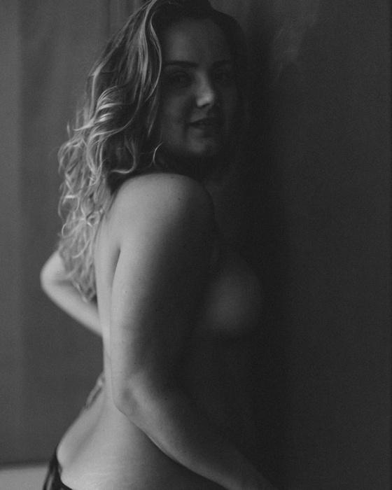 """13.set.2016 - Tatyane Goulart posa para o projeto """"Essa minha mulher"""", do fotógrafo Elvis Moreira"""