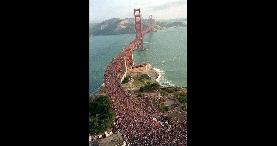 15. Aniversário de 75 da ponte Golden Gate