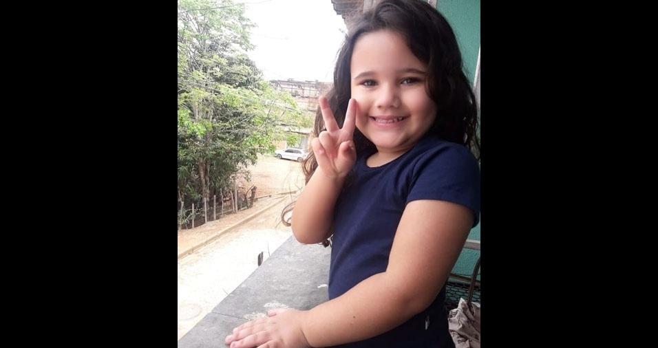 Maria Clara é filha da Joseane Aparecida Silva, de Ribeirão das Neves (MG)