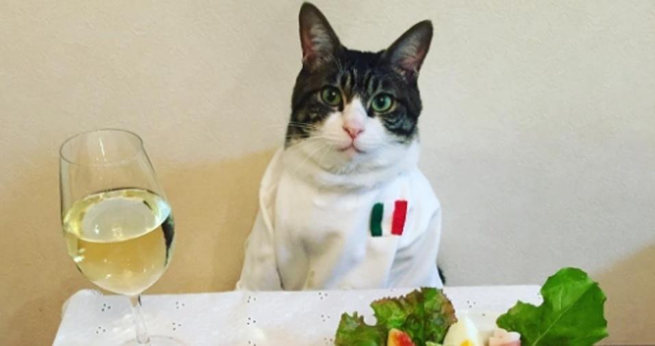 30. Se você for experimentar comida italiana, nada mais justo que se vestir a caráter