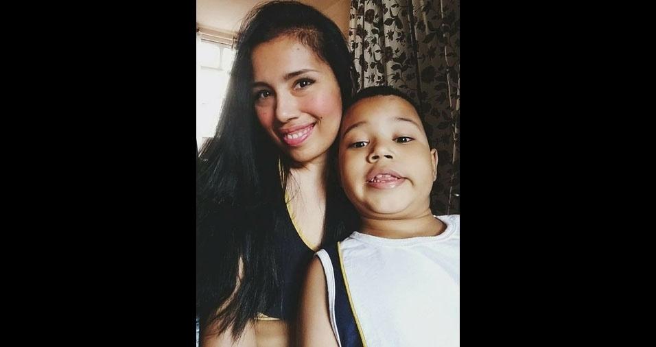 Aline é a mamãe do Arthur, de sete anos. Eles moram no Rio de Janeiro (RJ)