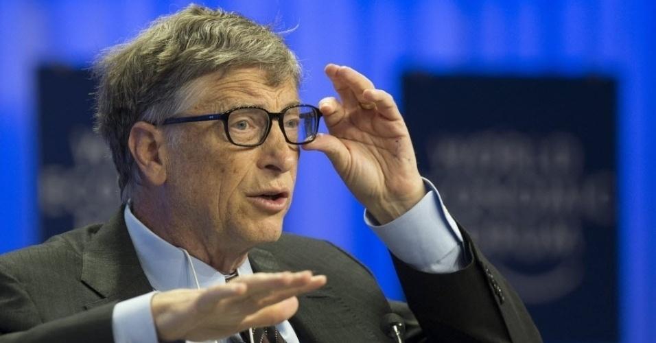 """12. Bill Gates, o gênio fundador da Microsoft, tem QI 151.Existem """"clubes"""" de gênios, como a socidade Mensa, que só aceita pessoas que estejam entre os 2% mais inteligentes do mundo"""