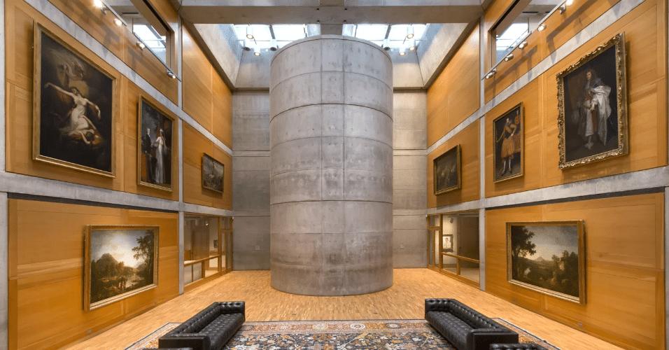 20.jan.2017 - A reforma do Yale Center for British Art procurou manter as características do prédio original, construído há 40 anos, adaptando-as para os dias atuais. O prédio no estado norte-americano de Connecticut abriga a maior coleção de arte britânica fora do Reino Unido