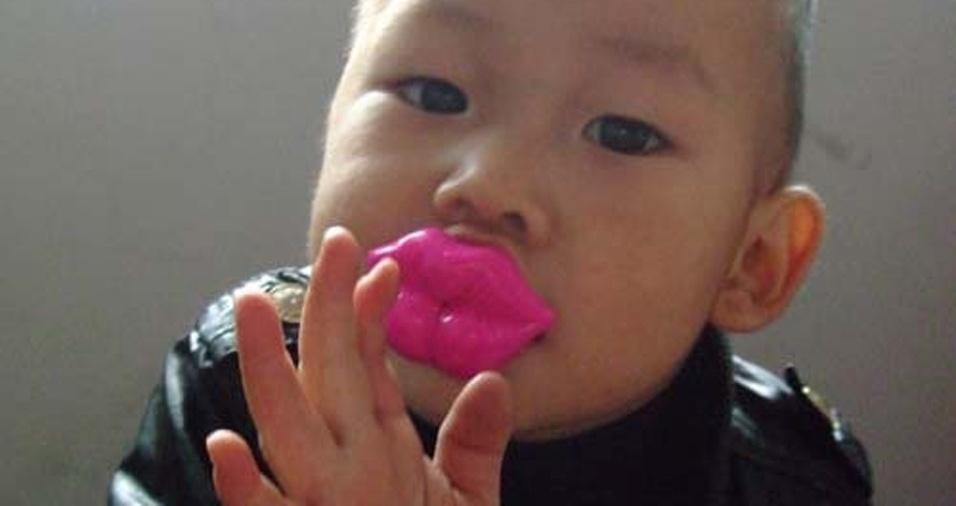 15. Os pais não precisam mais ficar pedindo para a criança mandar beijos