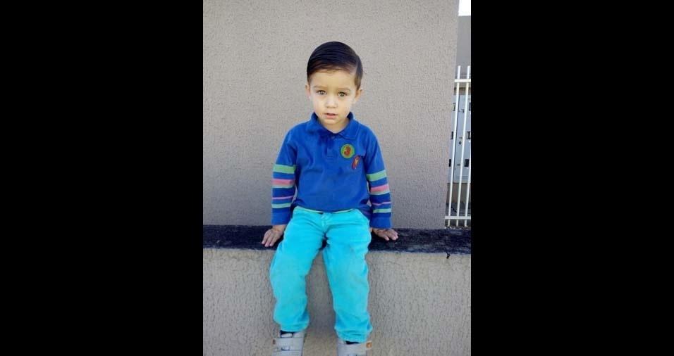 Joice Mara enviou a foto do filho Arthur, de Fazenda do Rio Grande (PR)