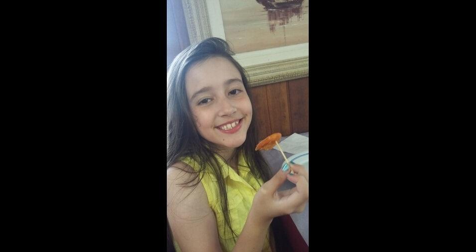 A Adriana de Souza Pires compartilhou este clique da filha Vanessa, lá de Santos Dumont (MG)