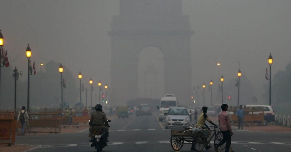 6. A cidade mais poluída do mundo é Nova Délhi, na Índia