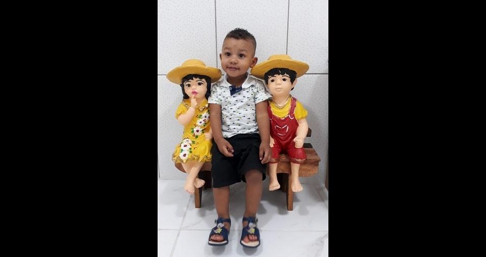Lourival de Jesus Filho e Raquel Miranda Moraes, de São Paulo (SP), enviaram foto do filho Nathan