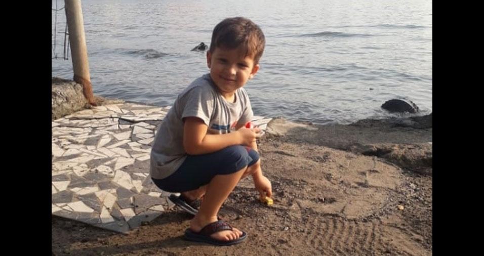 Os pais Felipe e Tamirys enviaram foto do filho Mateus