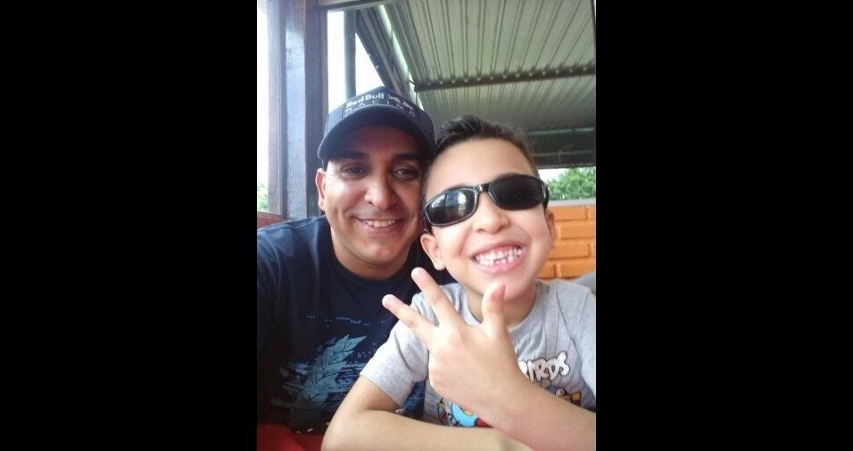 Otávio Eliton Alves, filho do Gabriel Augusto, de Brasília (DF)