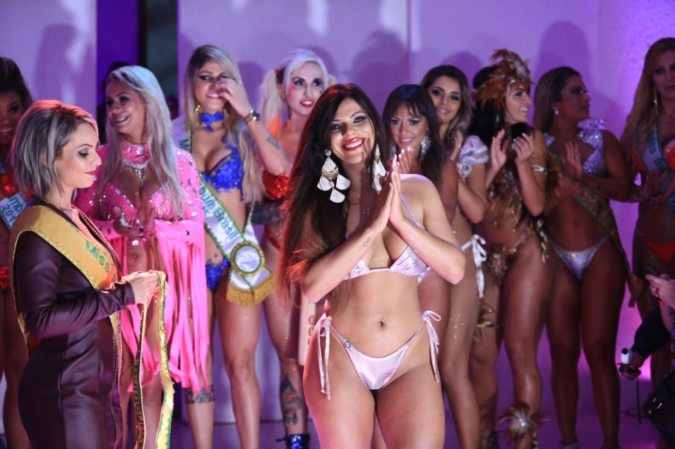 9.nov.2015 - Suzy Cortez, representante do Distrito Federal, é a vencedora do Miss Bumbum 2015