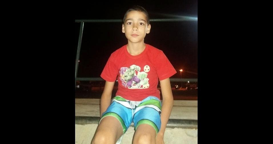 Mamãe Francisca enviou foto do filho Alex, de Brasília (DF)