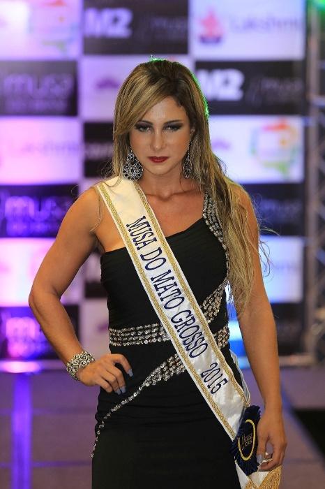 14.dez.2015 - Raquel Santos é modelo, tem 28 anos, e representou o Mato Grosso