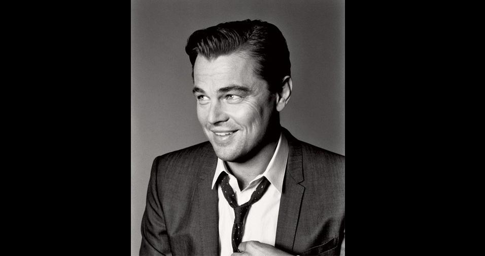 4. Leonardo DiCaprio. Aos 42 anos, o ator já mostrou com muitos filmes que não é só mais um rostinho bonito, mas não há como negar que ele é um gato