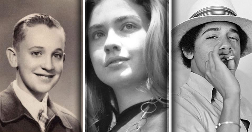 20.abr.2017 - Presidentes, primeiros-ministros, ditadores e líderes mundiais históricos viviam de forma muito diferente antes de pensarem em poder. Veja, a seguir, uma seleção de imagens de ícones internacionais em momentos de simplicidade na infância e na juventude: