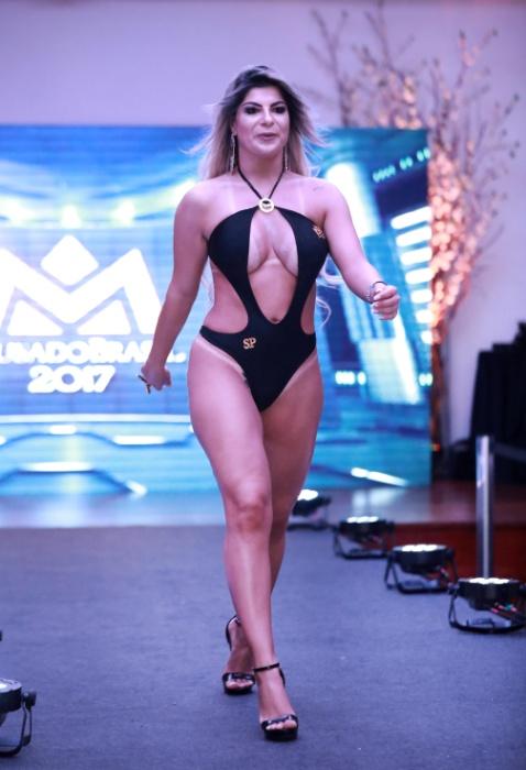 5.nov.2017 - Luciana Fontano representou São Paulo no Musa do Brasil
