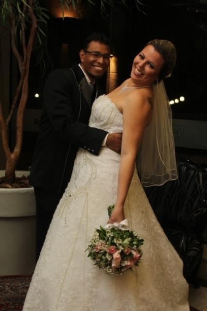 Marcia Regina Schumak e Abiatar Jonatas da Silva se casaram no dia 20 de junho de 2015 em Curitiba (PR)