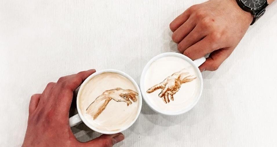 """49. """"A Criação de Adão"""", mas antes... uma xícara de café para começar o dia"""