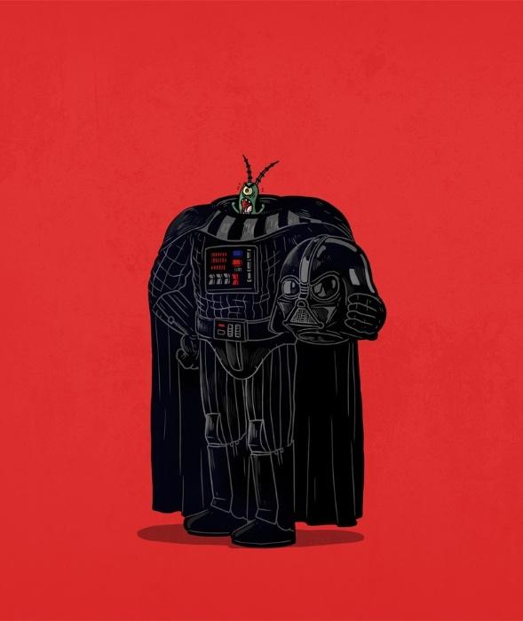 """21.out.2015 - Uma bela surpresa em um novo """"Guerra nas Estrelas"""" seria descobrir que Darth Vader não passa de um bichinho"""