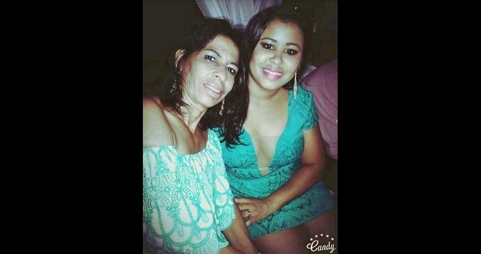 """Quiara Lima manda recado para a mamãe Ilma Almeida: """"Minha rainha, minha base, minha inspiração. Te amo mãe!"""""""