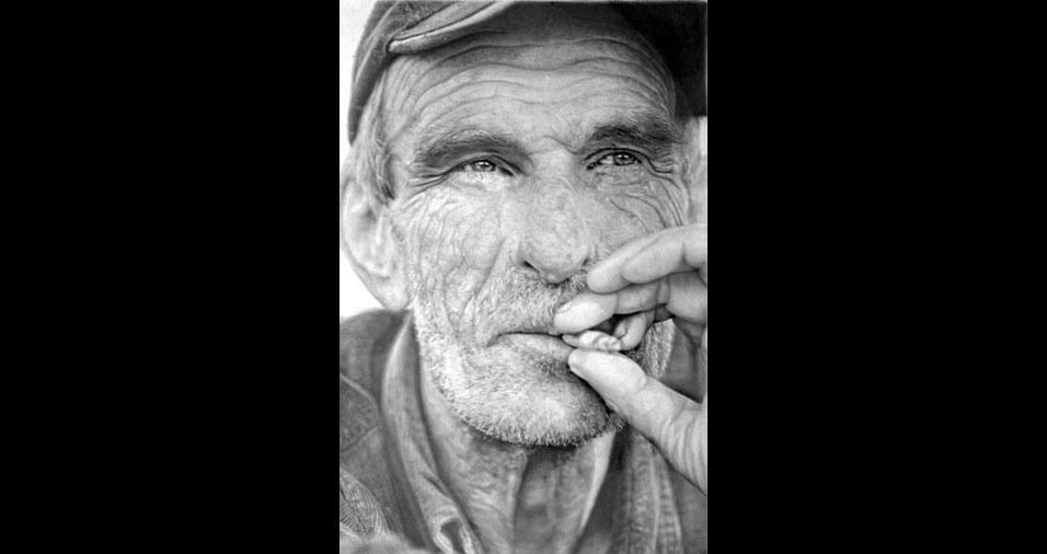 18. Pitando um cigarrinho