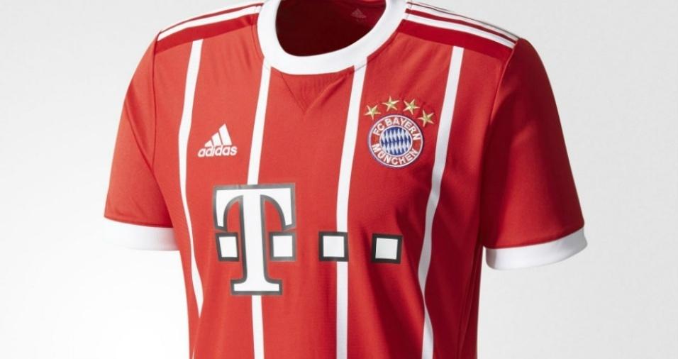 19. Bayern - O gigante alemão variou novamente em suas listras, como costuma fazer em toda temporada