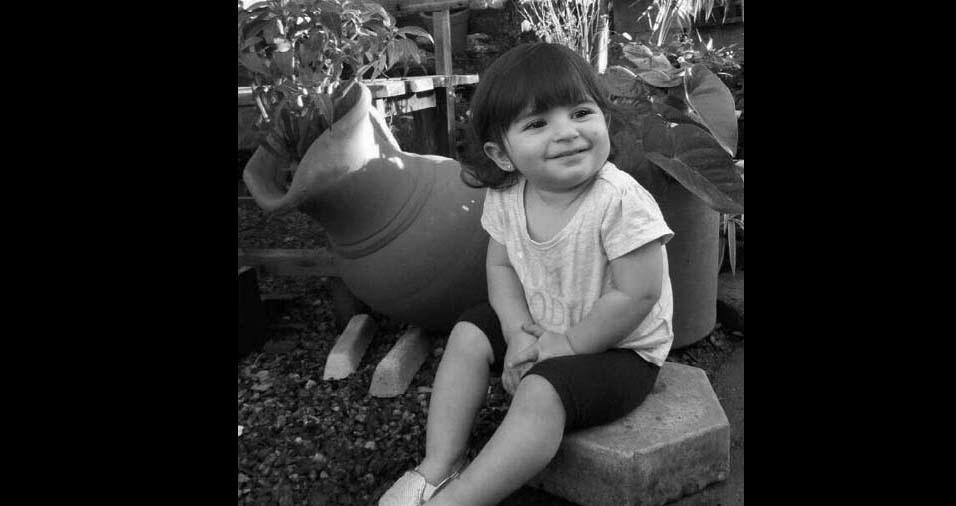 Paulo Alessandro enviou foto da filha Alice, de Mogi das Cruzes (SP)