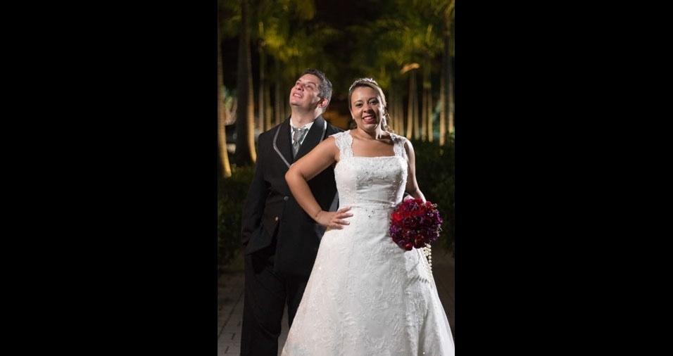 Fernanda Maria Setin de Freitas e Agnel Soares de Freitas se casaram em 22/04/2017, na  Paroquia Coração de Jesus, em São José dos Campos (SP)
