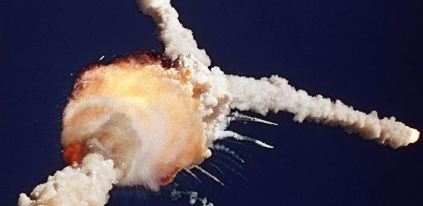 Ônibus espacial Challenger, 28/1/1986 (EUA)