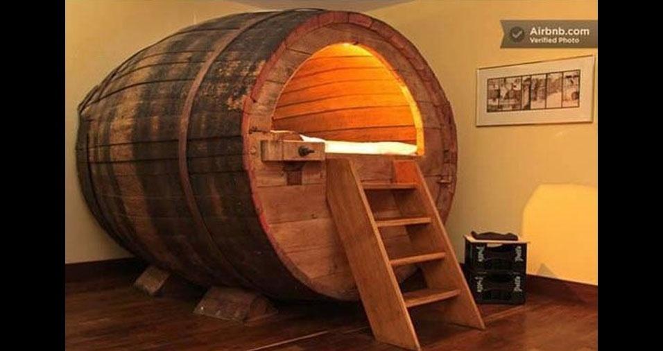 31. Cama de barril