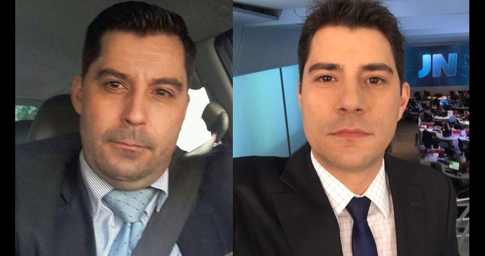 Jose Armando de Farias, São Paulo (SP), é um tipo de clone do jornalista Evaristo Costa