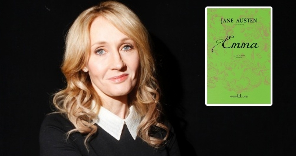 """7. J.K. Rowling, a escritora que conquistou tantos leitores com a saga do bruxo Harry Potter tem como livro favorito """"Emma"""", de Jane Austen, publicado pela primeira vez em 1815. Emma é uma personagem profunda, que com falhas e qualidades, cresce e se transforma diante dos olhos do leitor"""