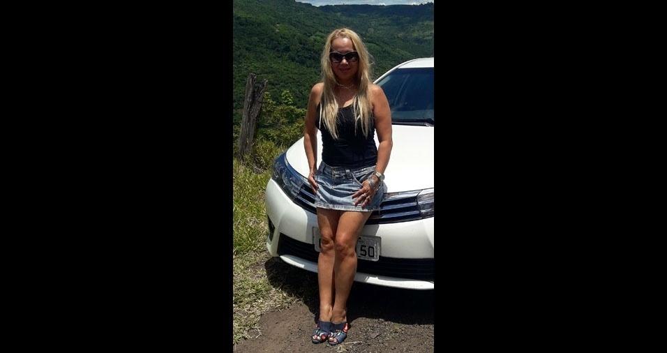 Maria Pontes, 45 anos, de Lucas do Rio Verde (MT)