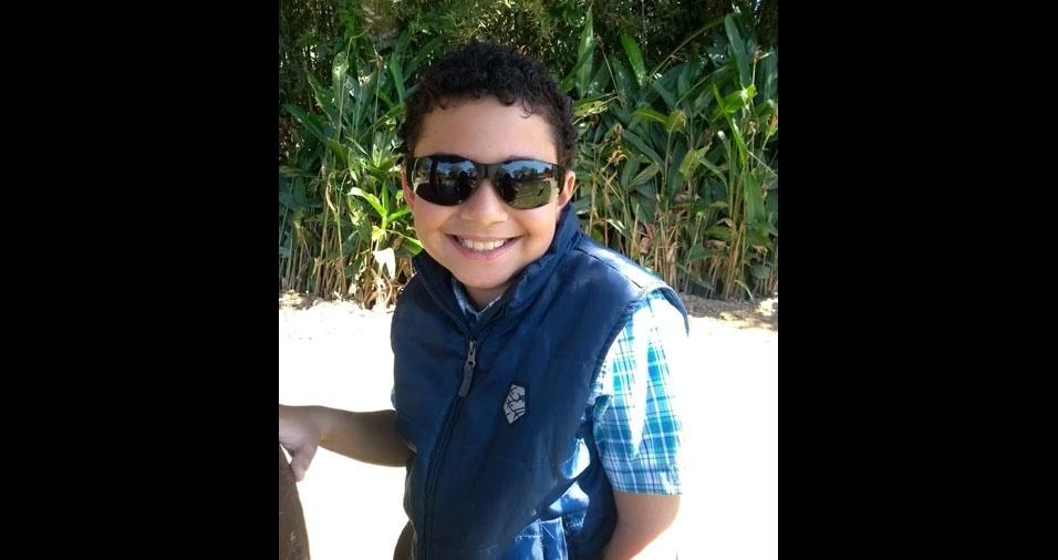 Paulo Vinícius é filho do Paulo Rogério Galvão Borba. Eles moram em Lorena (SP)