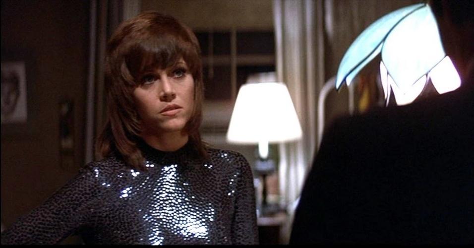 """1971 - A interpretação da prostituta Bree Daniels no filme """"Klute"""" deu a Jane Fonda seu primeiro Oscar, na categoria de atriz principal"""