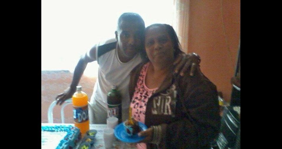 Janes com a mamãe Sonia Maria, de São Paulo (SP)