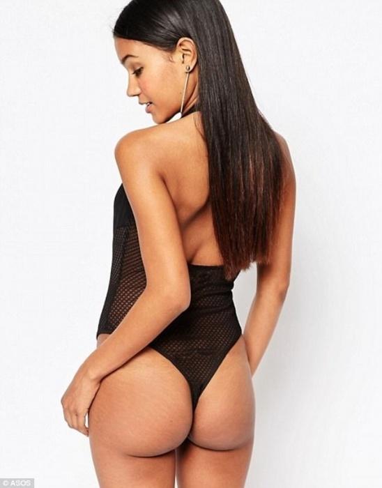 """12.jul.2017 - Sem retoques, modelos aparecem como são de verdade em fotos de divulgação da marca  """"Asos"""""""