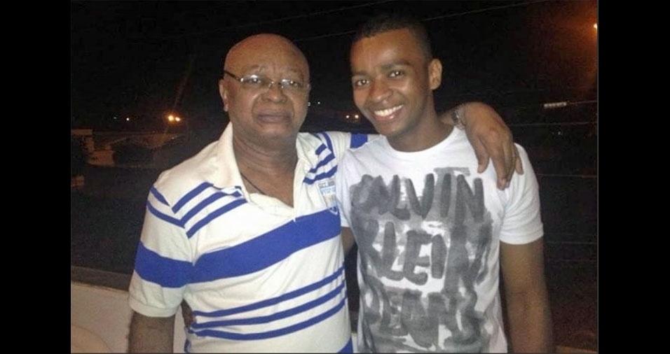 """Adriano homenageia seu pai, João: """"Dizem que somos muito parecidos. Amo esse homem, meu exemplo de pessoa"""""""