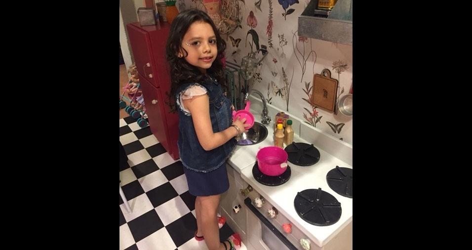 Maria Luiza é a filhinha da Carla Cristina Padilha, de São Paulo (SP)