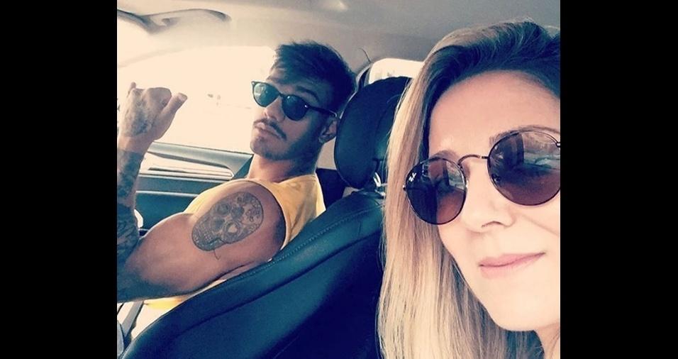 Karina Lucco, 41 anos, mãe de Lucas Lucco