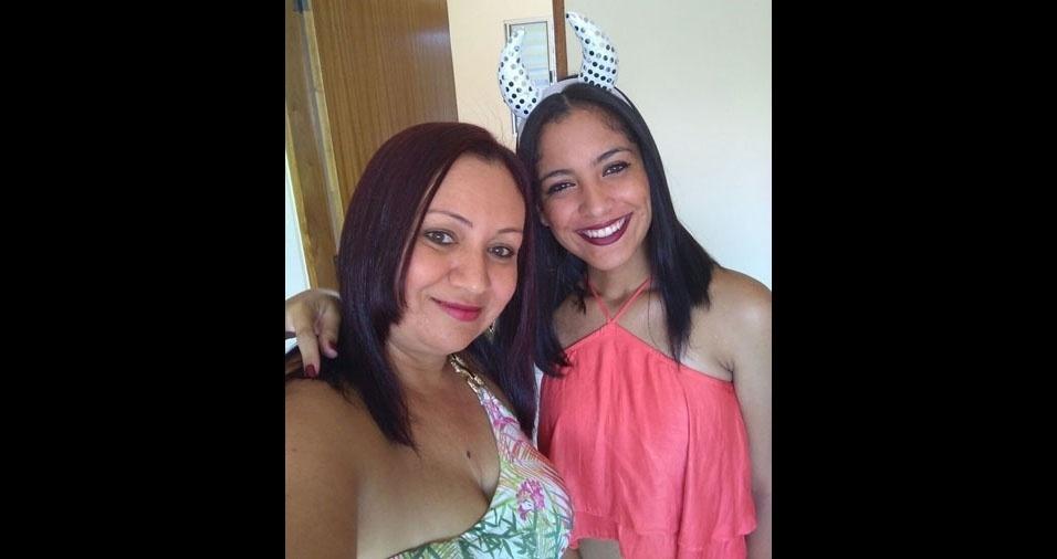 Anada é filha da Jozane. Elas são de São Paulo (SP)